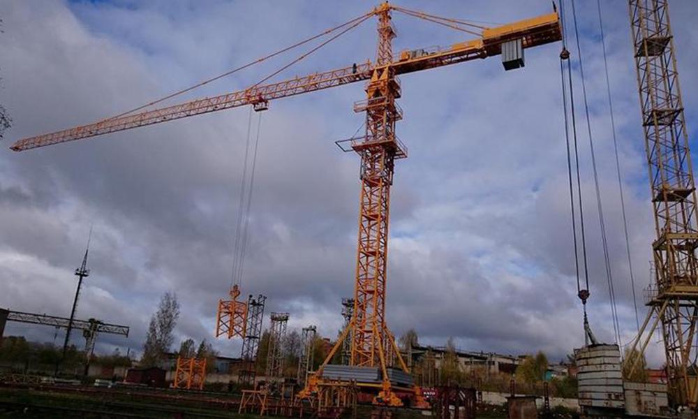 Периодические испытания башенного крана КБ-571Б