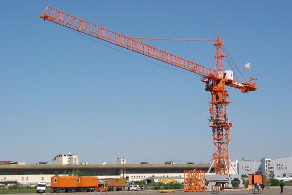 Кран башенный КБ-474 передвижной
