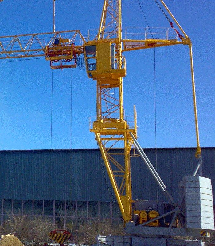 Кран башенный КБМ-401ПА-41