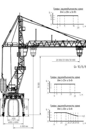 Схема Крана КБМ-401ПА-40