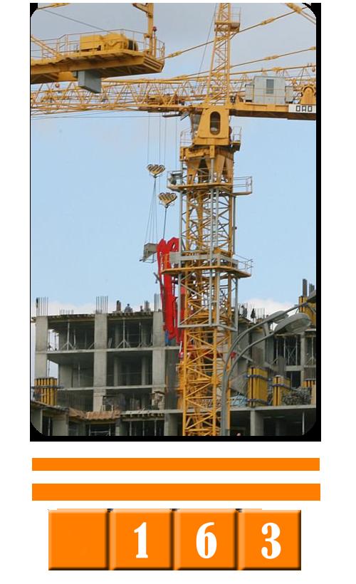 Производство верхнеповоротных башенных кранов